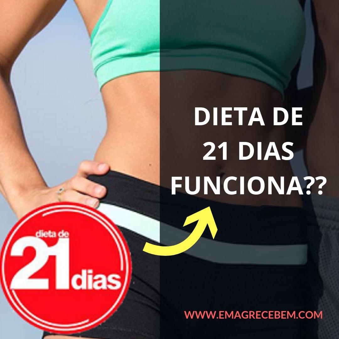 dieta para emagrecer em 21 dias